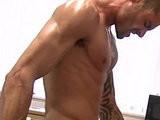 muscular, tattooed, tight
